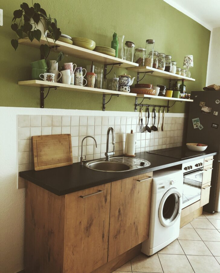 Medium Size of Wandfarbe Küche Farbe In Der Kche So Wirds Wohnlich Finanzieren U Form Nolte Winkel Edelstahlküche Gebraucht Wasserhahn Industrie Aufbewahrungsbehälter Ebay Wohnzimmer Wandfarbe Küche