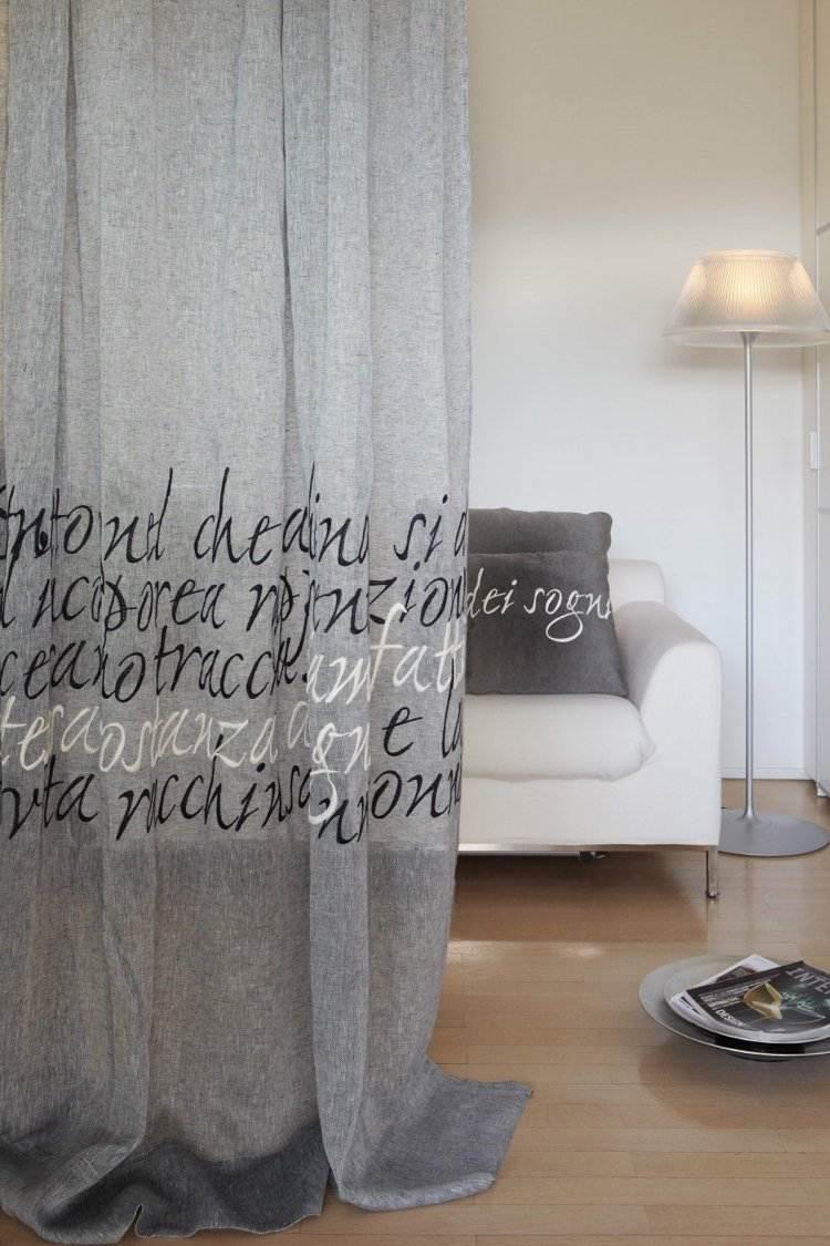 Full Size of Moderne Gardinen Wohnzimmer Und Vorhnge Aus Leinenstoffen 30 Ideen Modernes Sofa Schlafzimmer Deckenlampen Für Deckenleuchte Beleuchtung Kleines Led Deko Wohnzimmer Moderne Gardinen Wohnzimmer