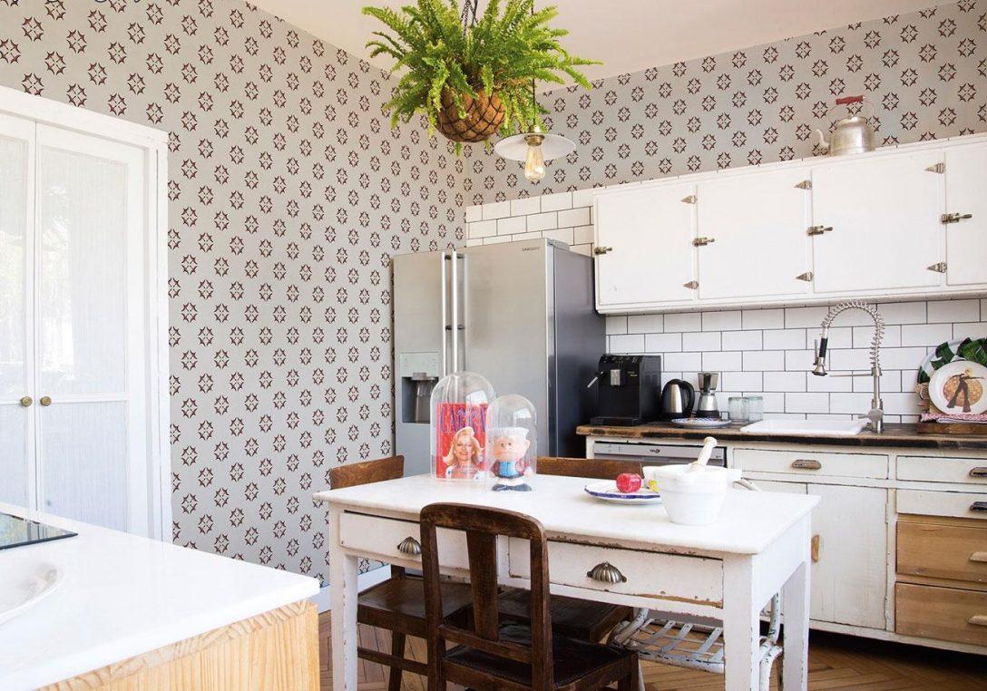 Large Size of Küchentapete Welche Tapeten Eignen Sich Fr Kche Wohnzimmer Küchentapete