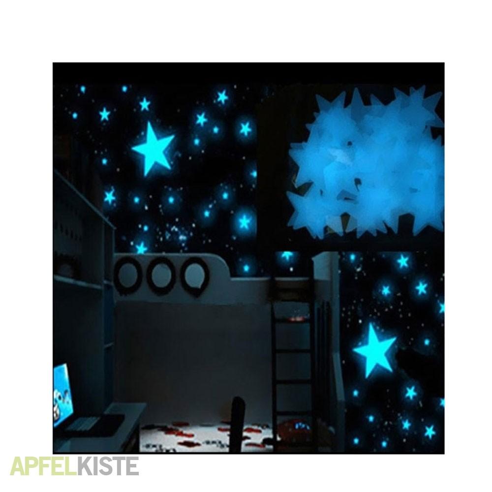 Full Size of Sternenhimmel Kinderzimmer Leuchtsterne Fluoreszierend Himmel Blau Regal Regale Weiß Sofa Kinderzimmer Sternenhimmel Kinderzimmer