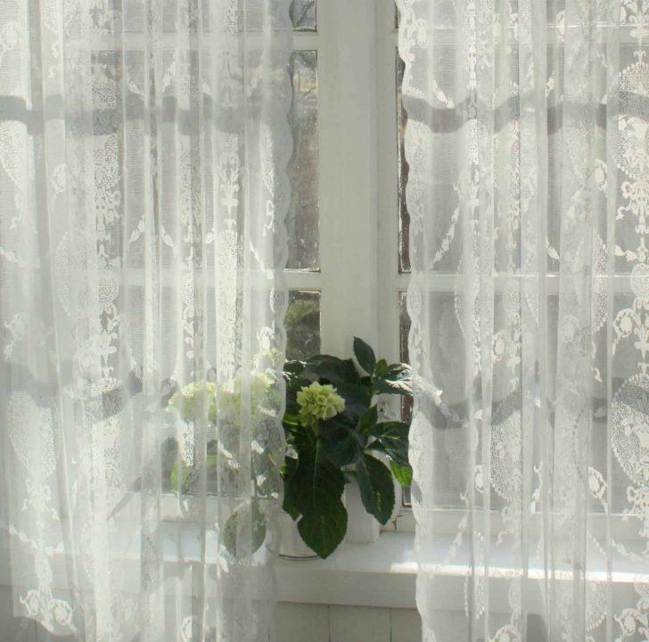 Medium Size of Vorhang Avery Offwhite Spitzen Gardine Shabby Landhaus Gardinen Für Wohnzimmer Bett Landhausstil Regal Betten Küche Fenster Bad Scheibengardinen Schlafzimmer Wohnzimmer Gardinen Landhausstil