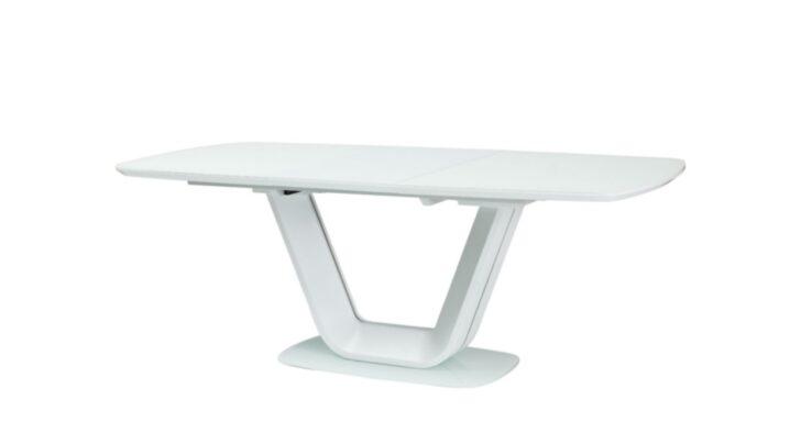 Medium Size of 00783 Armani White Matt Glas Tisch Esstisch Venjakob Runder Ausziehbar Rund Designer Lampen Glasregal Bad Quadratisch Glaswand Dusche Ausziehbarer Nussbaum Esstische Glas Esstisch