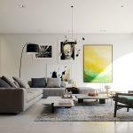 Moderne Wohnzimmer Farben Trendge Einrichtungsideen In Grn Und Rot Decke Deko Lampe Kommode Teppiche Liege Deckenlampen Modern Stehleuchte Modernes Sofa Wohnzimmer Moderne Gardinen Wohnzimmer