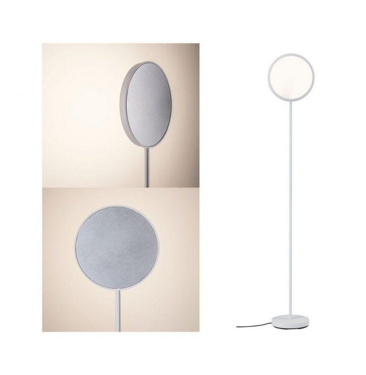 Medium Size of Paulmann Led Stehlampe Arik 17w Wei Alu Gebrstet Dimmbar Wohnzimmer Schlafzimmer Stehlampen Wohnzimmer Stehlampe Dimmbar
