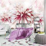 Blumen Dekoriere Deine Welt Fototapete Schlafzimmer Fenster Küche Fototapeten Wohnzimmer Wohnzimmer Fototapete Blumen