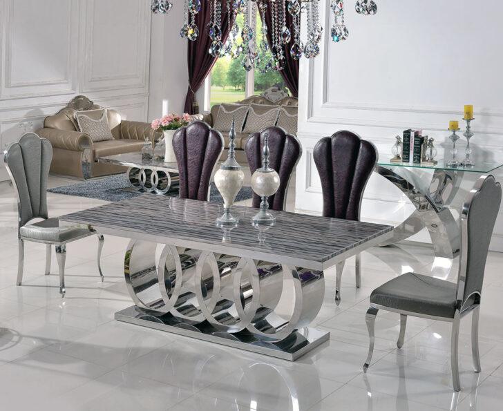 Medium Size of Großer Esstisch Dining Table Silver Polished Ca200cm Esszimmer Tisch Kaufen Massiver Esstische Massiv Sofa Für Landhaus Skandinavisch Runder Ausziehbar Esstische Großer Esstisch