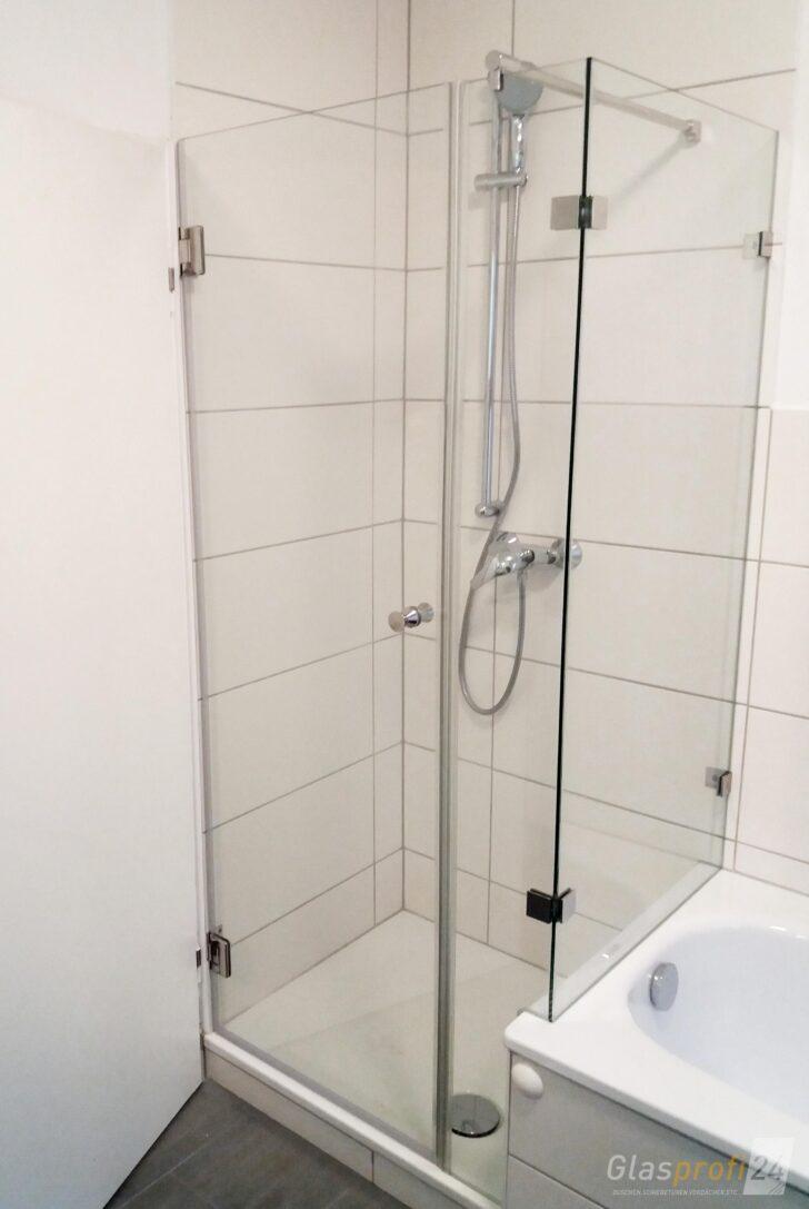 Medium Size of Dusche An Badewanne Glasprofi24 Koralle Begehbare Ohne Tür Mischbatterie Schiebetür Bodengleiche Nachträglich Einbauen Glastrennwand Ebenerdige 90x90 Dusche Schiebetür Dusche