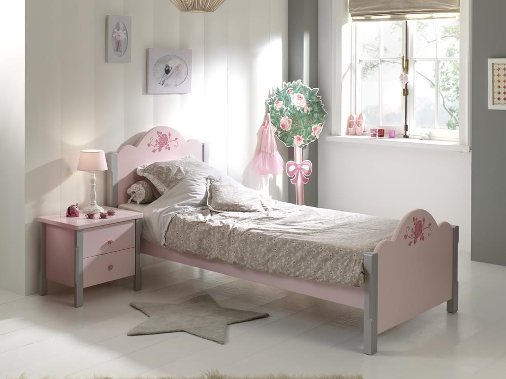 Full Size of Kinderbett Mdchen Rosalie 90x200 Online Furnart Bett Mädchen Betten Wohnzimmer Kinderbett Mädchen