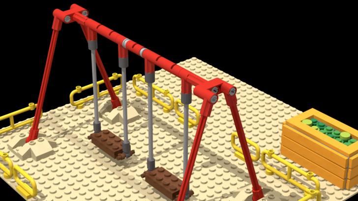 Medium Size of Schaukel Bauen Re Spielplatz Rohrkonstruktion Lego Bei 1000steinede Bodengleiche Dusche Einbauen Bett Selber 180x200 Einbauküche 140x200 Kopfteil Wohnzimmer Schaukel Bauen