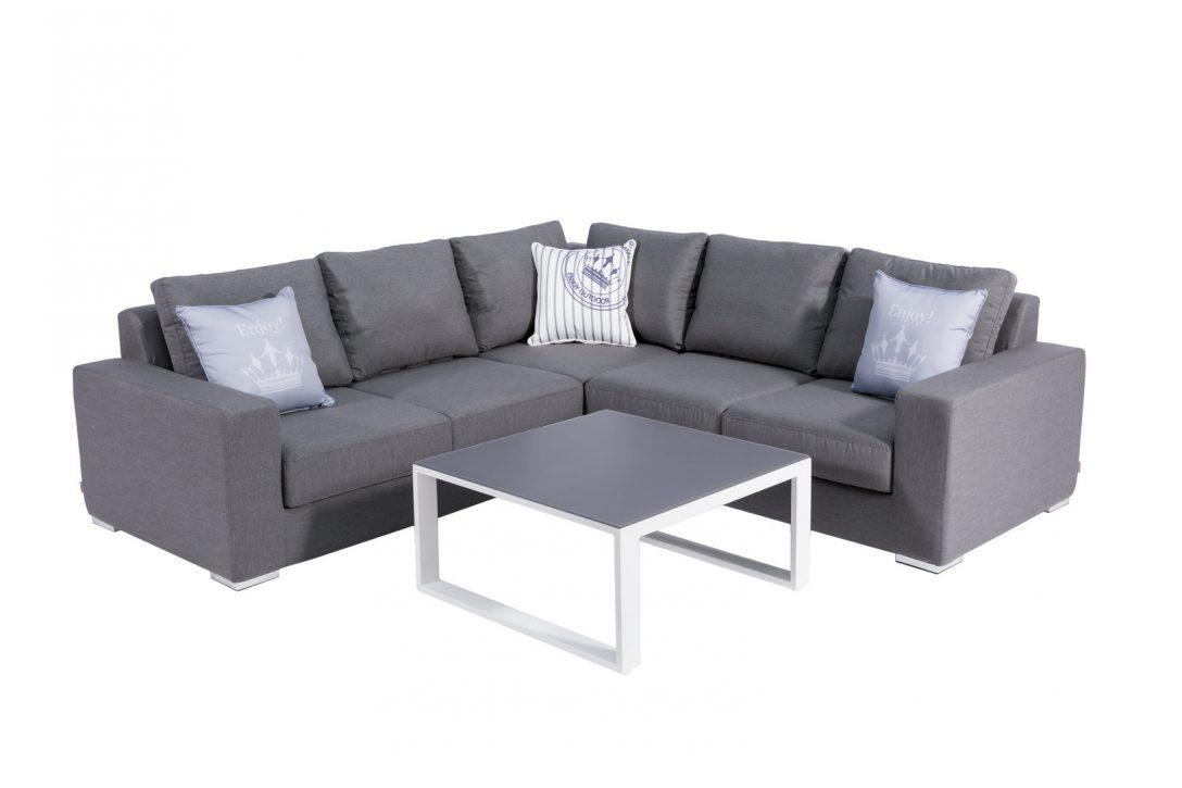 Large Size of Outdoor Sofa Wetterfest Ikea Couch Lounge Ecklounge Samo Mit Originalem Sunbrella Stoff Garnitur 2 Teilig Schlafsofa Liegefläche 160x200 180x200 Altes 3 Wohnzimmer Outdoor Sofa Wetterfest