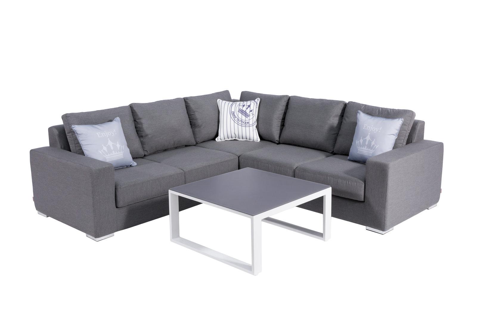 Full Size of Outdoor Sofa Wetterfest Ikea Couch Lounge Ecklounge Samo Mit Originalem Sunbrella Stoff Garnitur 2 Teilig Schlafsofa Liegefläche 160x200 180x200 Altes 3 Wohnzimmer Outdoor Sofa Wetterfest
