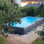 Unser Swimmingpool Selbst Aufgebaut Antworten Auf All Eure Boxspring Bett Selber Bauen Velux Fenster Einbauen Schwimmingpool Für Den Garten Fliesenspiegel Wohnzimmer Pool Selber Bauen