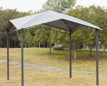 Pergola Metall Wohnzimmer Pergola Metall Outsunny Gartenpavillon Pavillon Berdachung Vordach Sonnenschutz Bett Regal Garten Weiß Regale