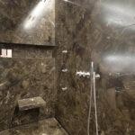 Kleine Moderne Duschen Begehbare Bilder Fliesen Ebenerdig Dusche Ohne Gemauert Gefliest Mit Baqua System Marmor Radermacher Esstische Breuer Hüppe Sprinz Dusche Moderne Duschen