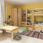 Ein Kube Etagenbett Mit Bettksten Regale Kinderzimmer Sofa Regal Eckschrank Bad Weiß Küche Schlafzimmer Kinderzimmer Eckschrank Kinderzimmer