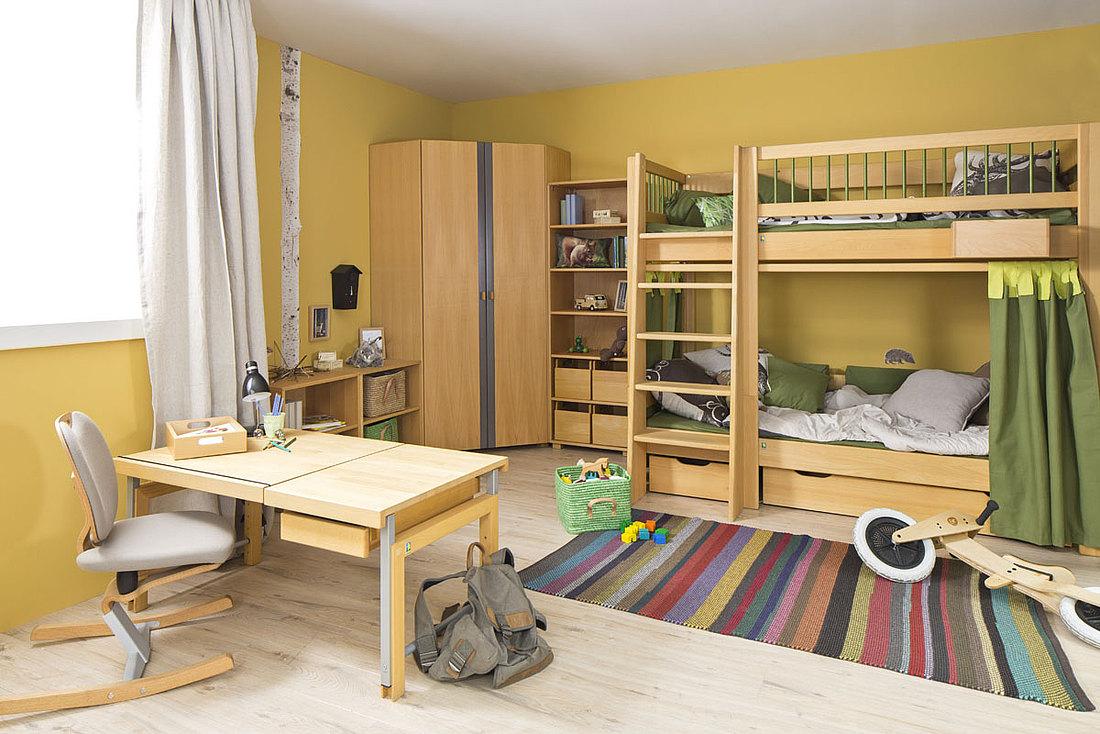 Full Size of Ein Kube Etagenbett Mit Bettksten Regale Kinderzimmer Sofa Regal Eckschrank Bad Weiß Küche Schlafzimmer Kinderzimmer Eckschrank Kinderzimmer