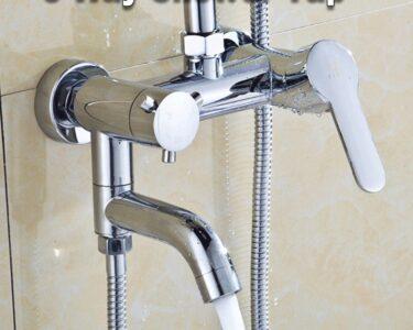 Mischbatterie Dusche Dusche Mischbatterie Dusche Wand Montieren Heier Kalte Mixer Wasserhahn Chrom Messing Nischentür Walkin Bluetooth Lautsprecher Antirutschmatte Walk In Rainshower