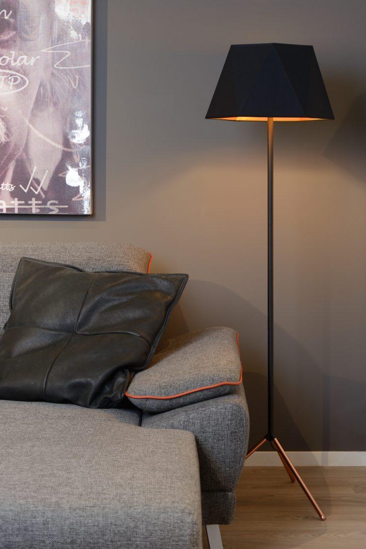 Medium Size of Stehlampen Modern Alegro Stehlampe 42 Cm E27 Schwarz Modernes Bett 180x200 Design Wohnzimmer Bilder Moderne Fürs Esstisch Deckenleuchte Schlafzimmer Sofa Wohnzimmer Stehlampen Modern