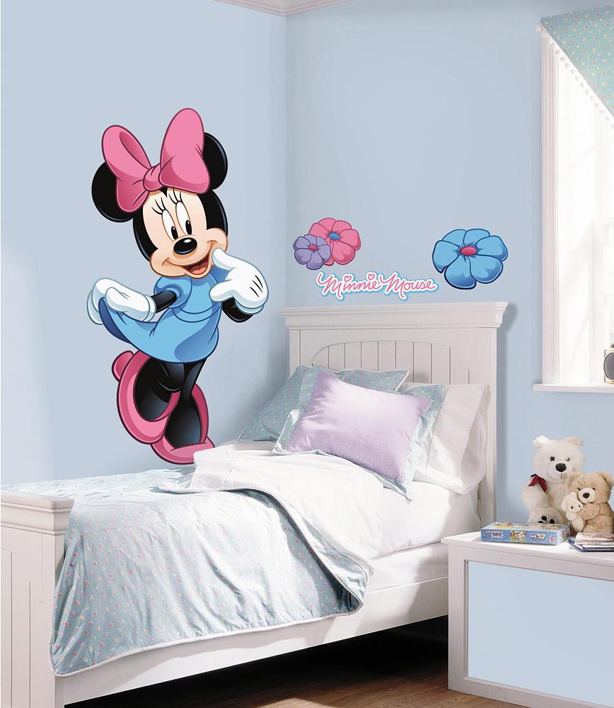Full Size of Wandtattoo Für Kinderzimmer Roommates Wandsticker Disney Minnie Mouse Rakuten Regal Weiß Sichtschutzfolien Fenster Fliegengitter Sichtschutz Garten Körbe Kinderzimmer Wandtattoo Für Kinderzimmer