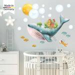 Wandtatoo Kinderzimmer Wandtattoo Wal Fisch Taucher Wanddeko Regal Weiß Regale Küche Sofa Kinderzimmer Wandtatoo Kinderzimmer