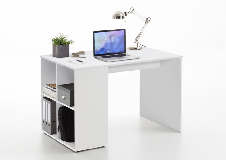 Medium Size of Regal Schreibtisch Mit Klappbar Selber Bauen Integriert Ikea Kombination Regalaufsatz Integriertem Kombi Gent Von Fmd Wei Industrie 25 Cm Tief Hängeregal Regal Regal Schreibtisch