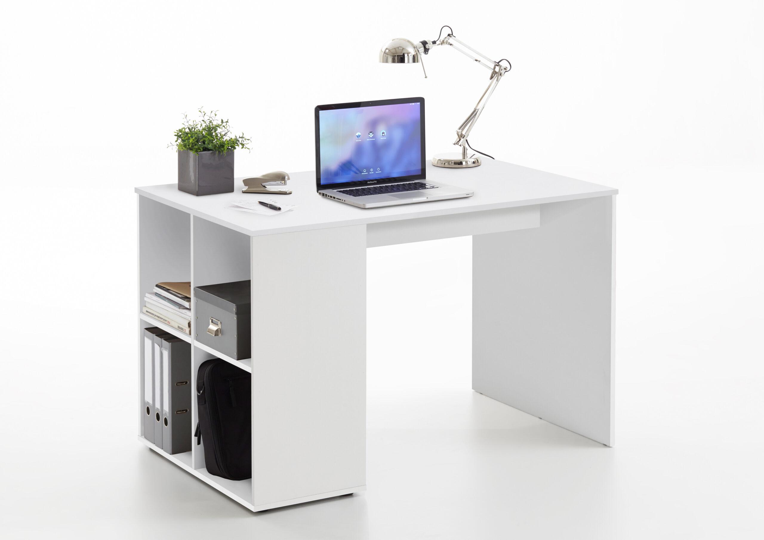 Full Size of Regal Schreibtisch Mit Klappbar Selber Bauen Integriert Ikea Kombination Regalaufsatz Integriertem Kombi Gent Von Fmd Wei Industrie 25 Cm Tief Hängeregal Regal Regal Schreibtisch