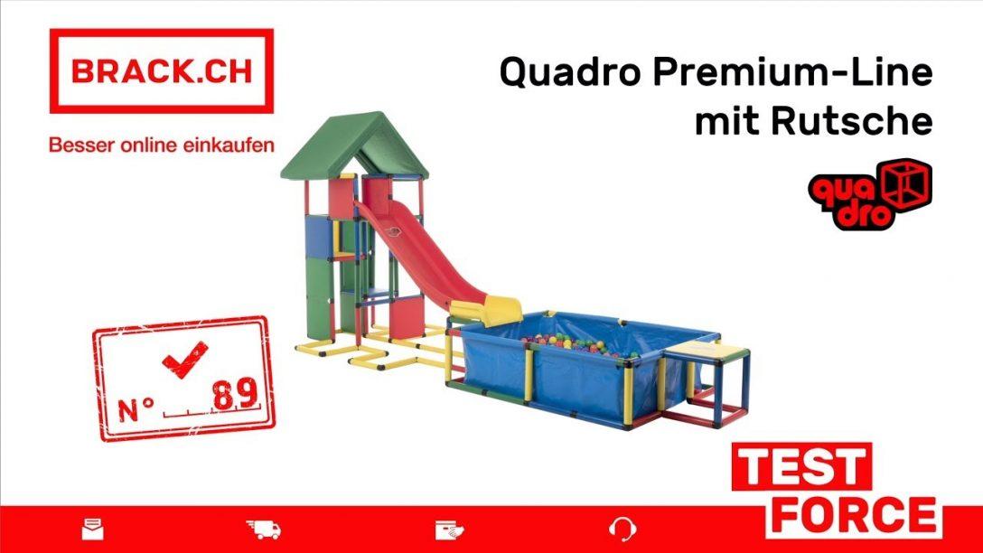 Large Size of Brackch Test Force Nr 89 Quadro Premium Line Mit Rutsche Klettergerüst Garten Wohnzimmer Quadro Klettergerüst