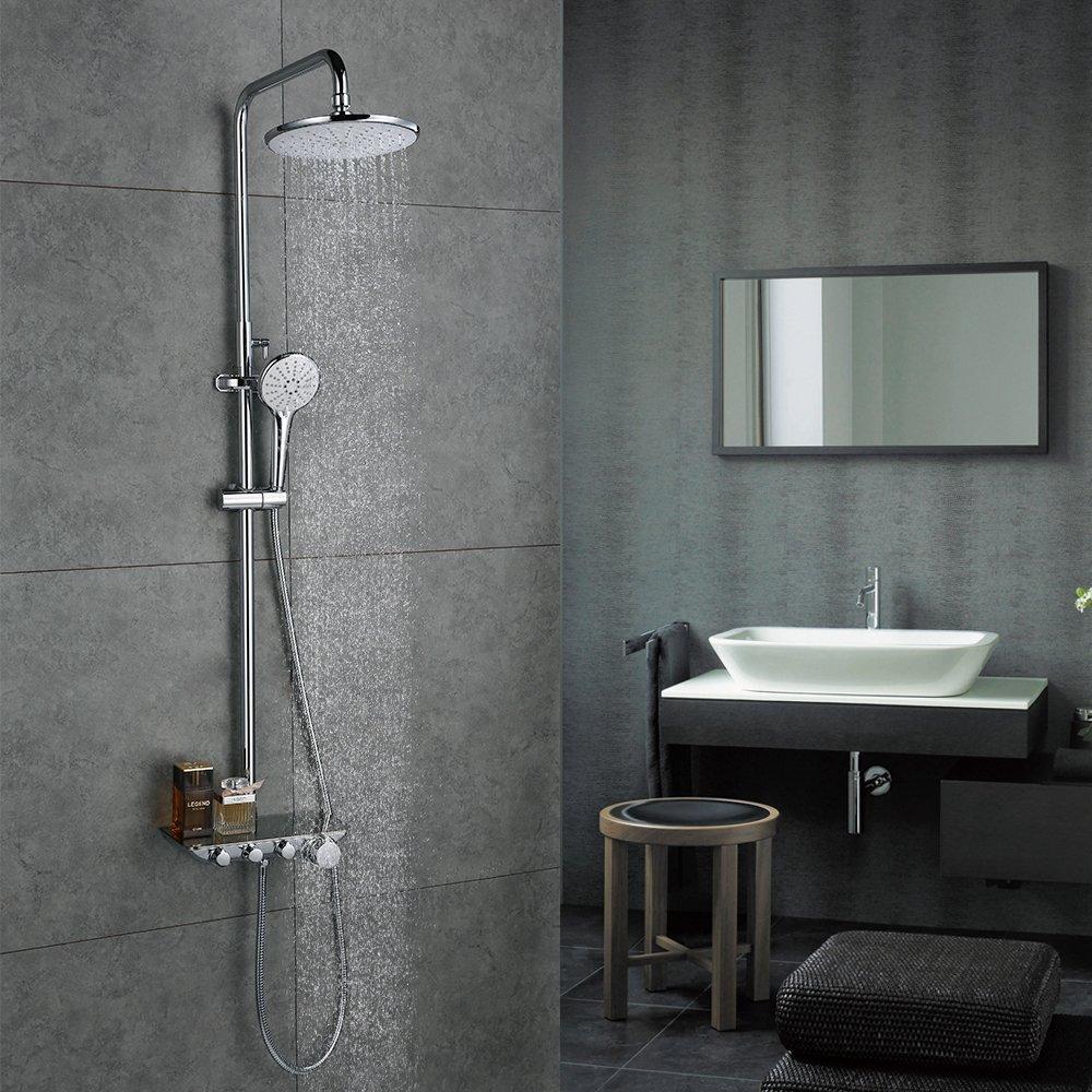 Full Size of Einhebelmischer Dusche Handbrause Duschsystem Runder Duschkopf Regenduschset Mit Regal Kaufen Bodengleiche Nachträglich Einbauen Bodenebene Dusche Einhebelmischer Dusche