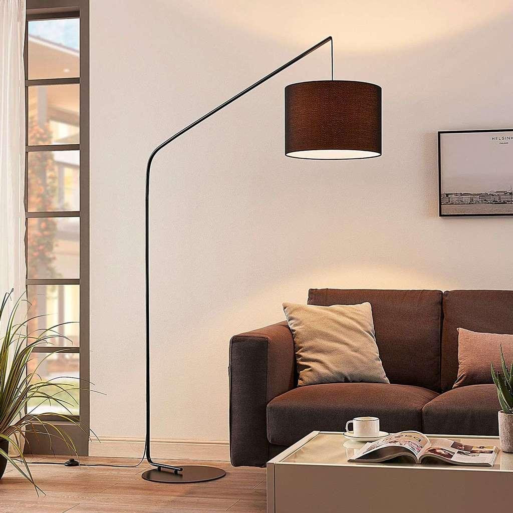Full Size of Led Stehlampe Viskan Bogenleuchte Modern Lampenwelt Real Modernes Sofa Deckenlampen Wohnzimmer Moderne Deckenleuchte Schlafzimmer Bett Landhausküche Esstisch Wohnzimmer Stehlampe Modern