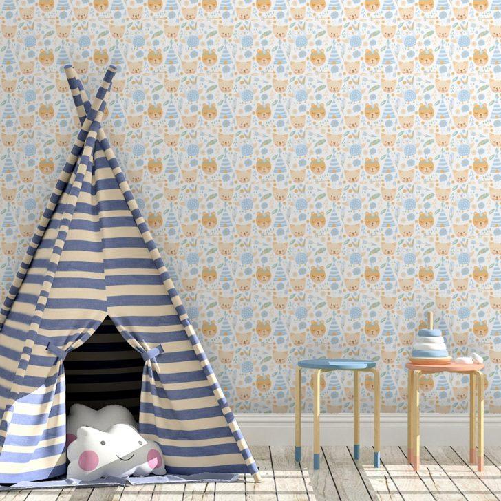 Medium Size of Fototapete Wohnzimmer Kinderzimmer Regal Tapete Tapeten Für Küche Schlafzimmer Modern Fenster Die Regale Weiß Sofa Fototapeten Ideen Wohnzimmer Kinderzimmer Tapete