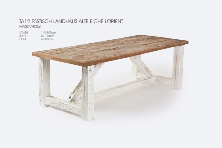 Medium Size of Esstisch Landhaus Tischfabrik24 Ta12 Alte Eiche Nach Mas Lorient Rund Mit Stühlen Kaufen 4 Günstig Stühle Ausziehbarer Ausziehbar Massiv Esstische Esstische Esstisch Landhaus