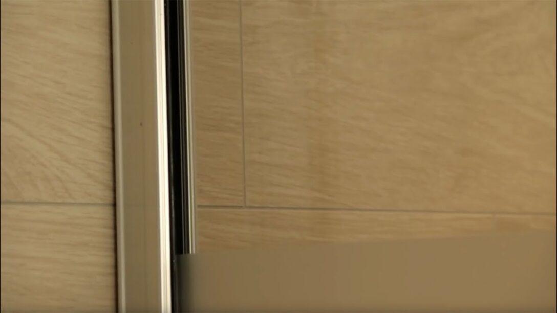 Large Size of Wandklemmprofil Fr Walk In Dusche Montieren Youtube Einbauen Anal Siphon 80x80 Pendeltür Unterputz Armatur Glasabtrennung Barrierefreie Begehbare Ohne Tür Dusche Glasabtrennung Dusche