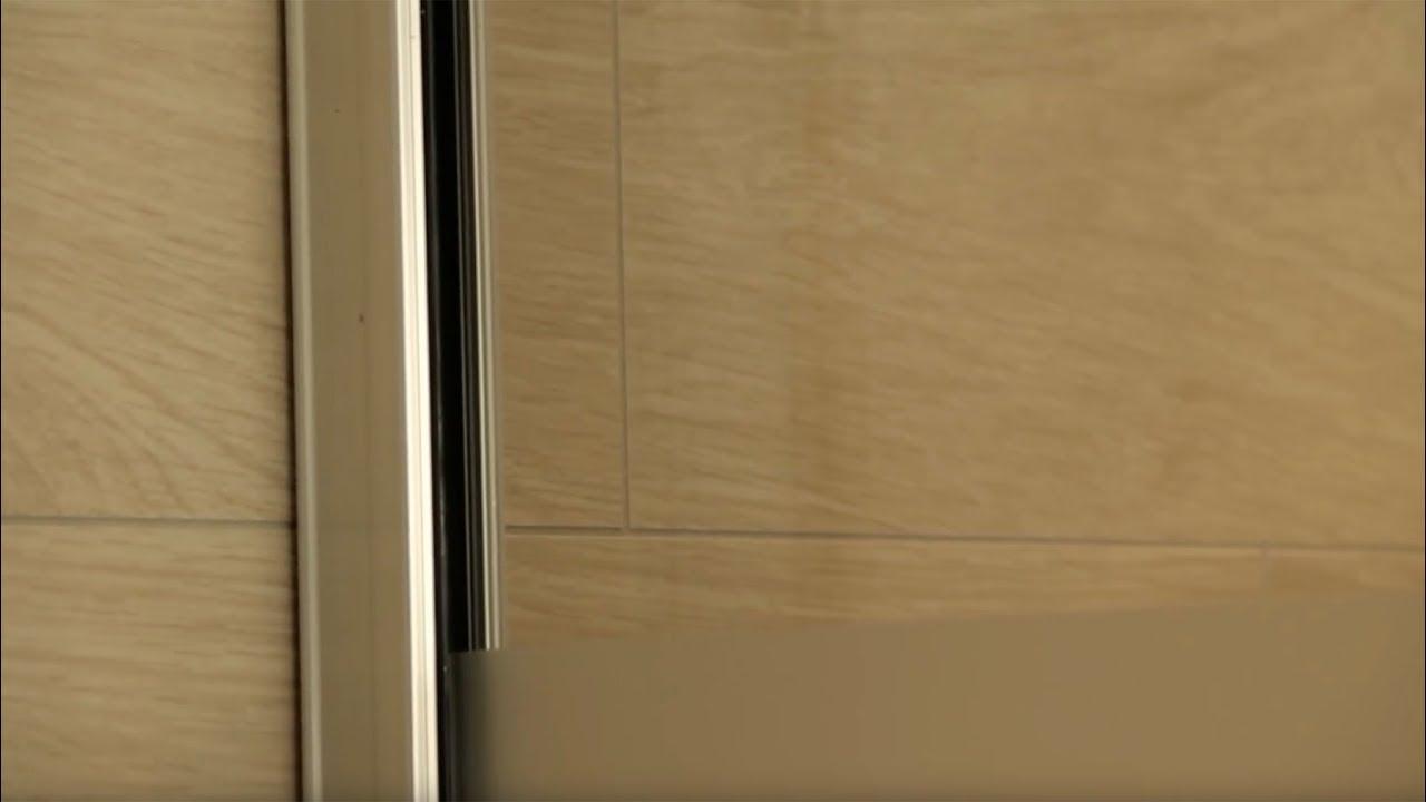 Full Size of Wandklemmprofil Fr Walk In Dusche Montieren Youtube Einbauen Anal Siphon 80x80 Pendeltür Unterputz Armatur Glasabtrennung Barrierefreie Begehbare Ohne Tür Dusche Glasabtrennung Dusche