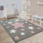 Kinderzimmer Teppich Sterne Grau Teppichcenter24 Regal Weiß Regale Wohnzimmer Teppiche Sofa Kinderzimmer Teppiche Kinderzimmer
