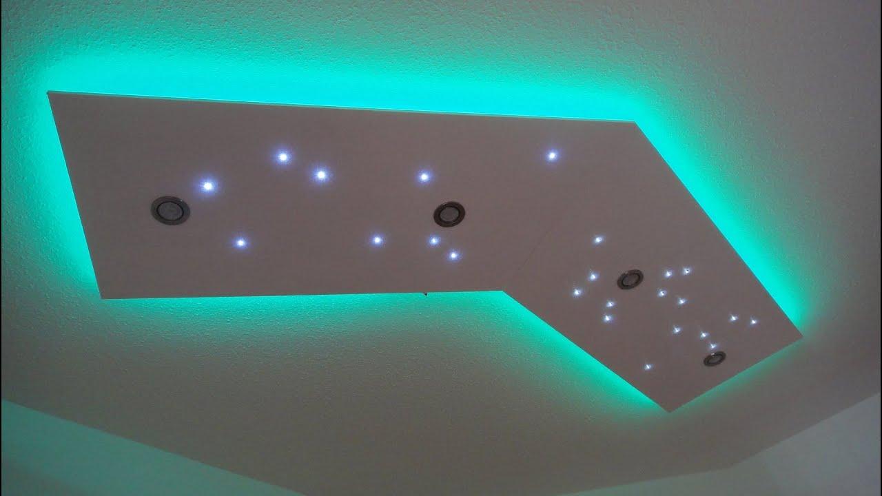 Full Size of Deckenlampe Selber Bauen Deckenleuchte Direktes Und Indirektes Led Licht Küche Wohnzimmer Deckenlampen Für Esstisch Dusche Einbauen Neue Fenster Bad Wohnzimmer Deckenlampe Selber Bauen