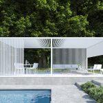 Pergola Modern Wohnzimmer Pergola Modern Moderna In Alluminio Designs Australia Prefab Kits Design Malaysia Attached To House Pergolas Modernas Para Terrazas Mdulo Outdoor Spaces