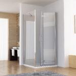 Dusche Eckeinstieg Dusche Dusche Eckeinstieg 120x75x197cm Duschkabine 120cm Falttr Glasabtrennung Bodengleiche Nachträglich Einbauen Unterputz Armatur Nischentür Glastür Moderne