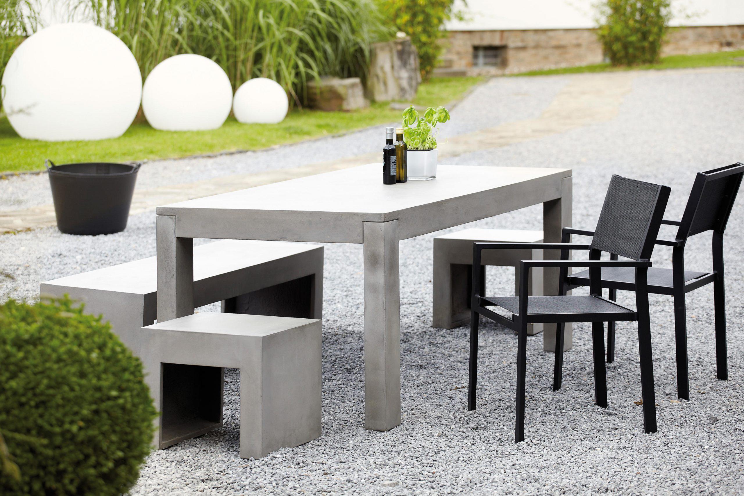 Full Size of Gartentisch Betonoptik Beton Tisch Esstische Von Jankurtz Architonic Küche Bad Wohnzimmer Gartentisch Betonoptik