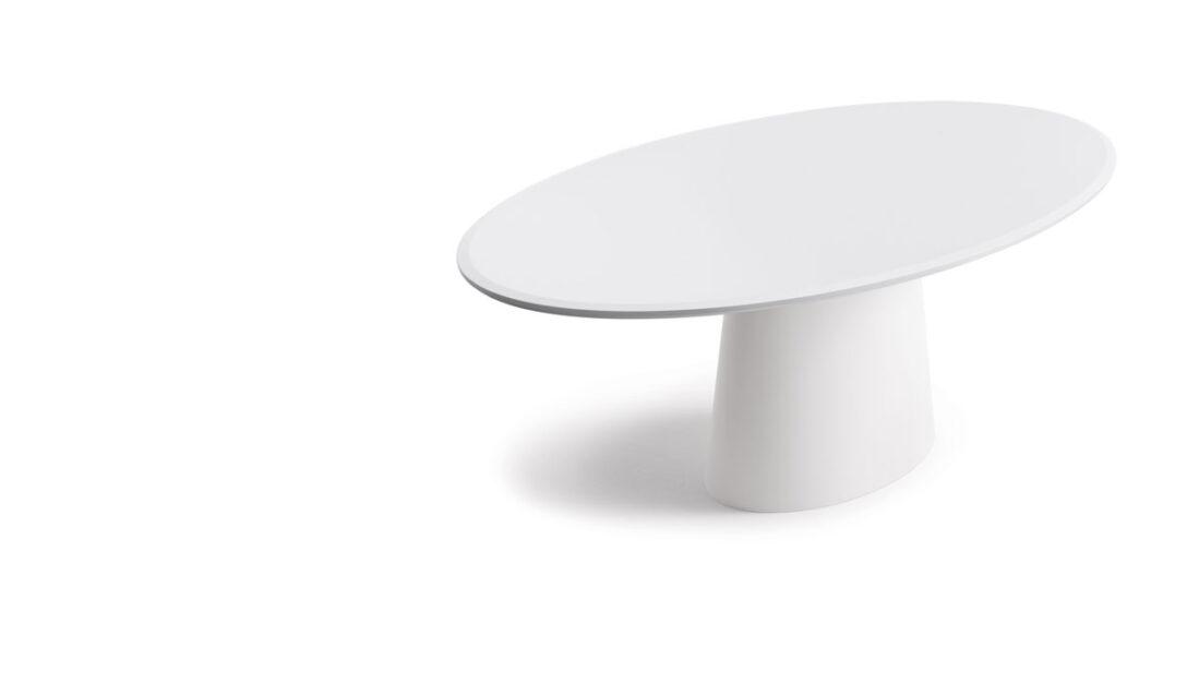 Large Size of Esstisch Weiß Oval Conic Tisch Cor Landhausküche 2m Holz Weiße Betten Esstische Massivholz Nussbaum Eiche Massiv Sägerau Weißer Bogenlampe Kleine Rund Mit Esstische Esstisch Weiß Oval