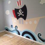 Piraten Kinderzimmer Kinderzimmer Piraten Kinderzimmer Pin Von Lea Auf Zimmer Sofa Regal Weiß Regale