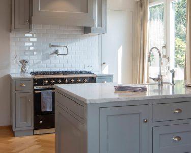 Küchen Wohnzimmer Küchen Kchen Im Shaker Stil Regal