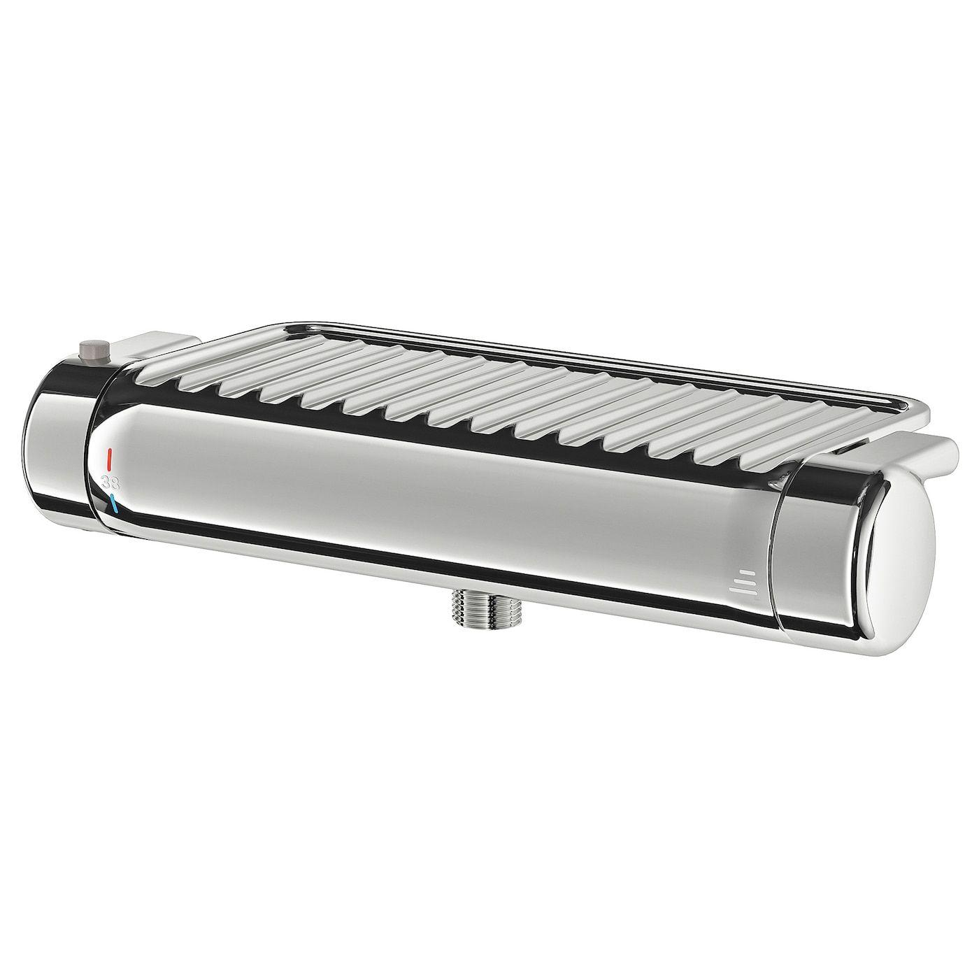 Full Size of Mischbatterie Dusche Voxnan Thermostat Verchromt Ikea Schiebetür Begehbare Ohne Tür Fliesen Walkin Grohe Nischentür Einbauen 90x90 Ebenerdig Ebenerdige Dusche Mischbatterie Dusche