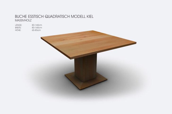 Medium Size of Esstisch Quadratisch 140x140 Ausziehbar Weiss Tisch 150x150 140 X Tischfabrik24 Buche Modell Kiel 120x80 Sofa Klein Designer Esstische Massiv Stühle Esstische Esstisch Quadratisch