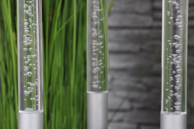 Full Size of Gartendeko Modern Arnusa Gartenstecker Acryl Glassulen 3er Set Tapete Küche Modernes Bett Design Holz Deckenlampen Wohnzimmer Moderne Esstische Deckenleuchte Wohnzimmer Gartendeko Modern