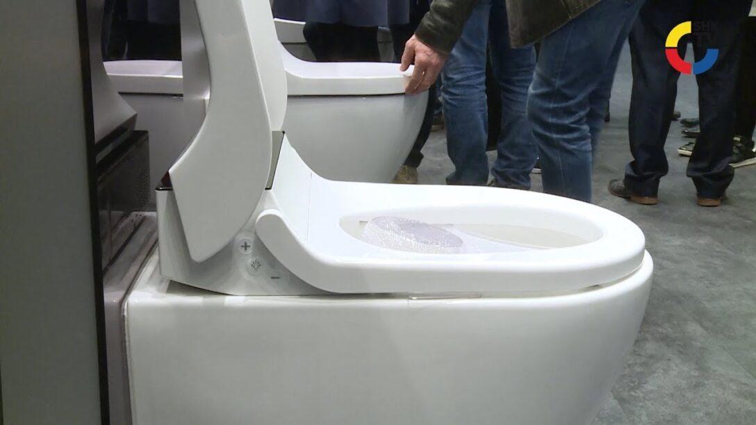 Large Size of Dusch Wc Test Produkt Im Blickpunkt Aquaclean Tuma Von Geberit Youtube Bodengleiche Dusche Nachträglich Einbauen Bodenebene Fliesen Badewanne Mit Für Dusche Dusch Wc Test