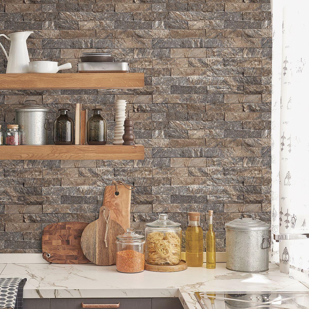 Full Size of Kchentapete Kitchen Style Ck36623 3 Decowunder Wohnzimmer Küchentapete