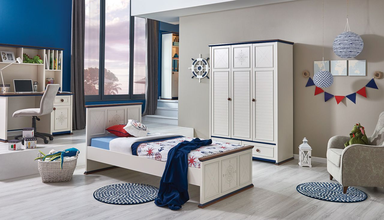 Full Size of Kinderzimmer Junge Ahoi Online Kaufen Furnart Sofa Regal Weiß Regale Kinderzimmer Jungen Kinderzimmer