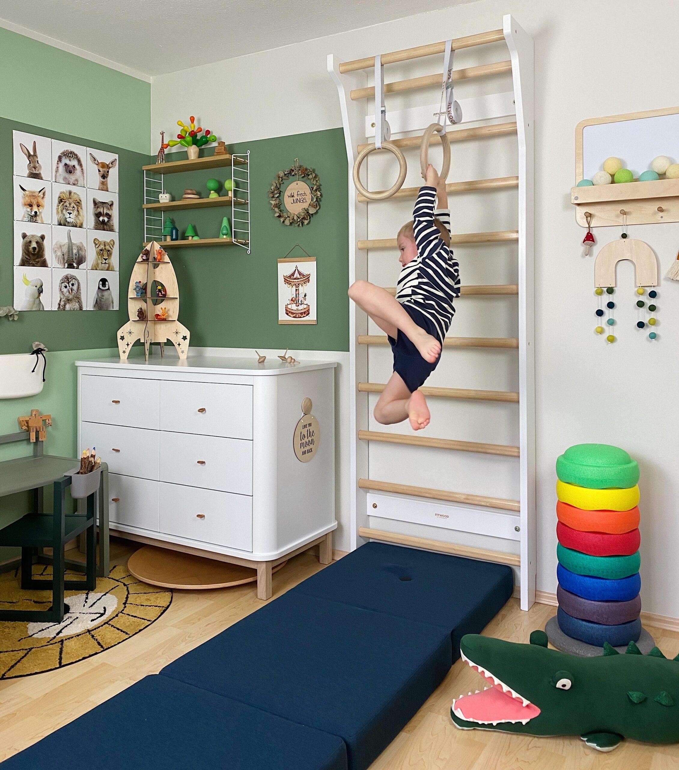 Full Size of Sprossenwand Kinderzimmer Bilder Ideen Couch Sofa Regal Regale Weiß Kinderzimmer Sprossenwand Kinderzimmer