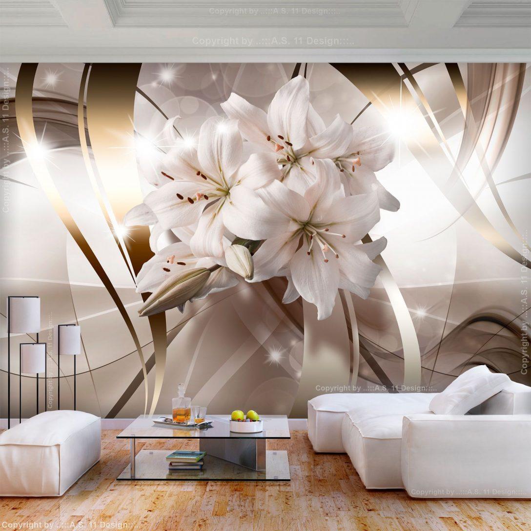 Large Size of Details Zu Vlies Fototapete Blumen Lilien 3d Effekt Tapete Fototapeten Wohnzimmer Fenster Küche Schlafzimmer Wohnzimmer Fototapete Blumen