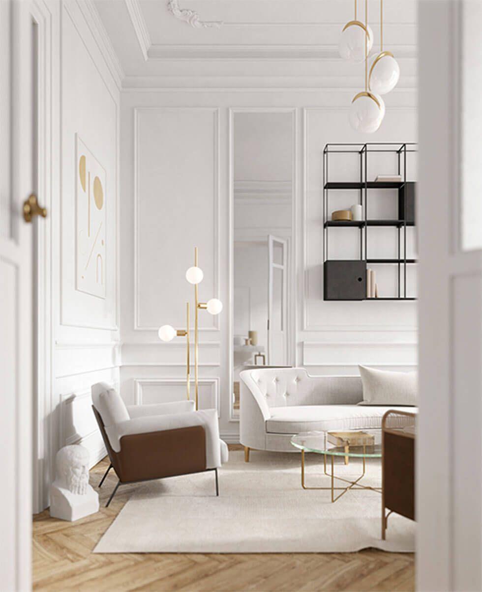 Full Size of 5 Einfache Und Stilvolle Moderne Wohnzimmer Ideen Mbelauswahl Deckenlampen Für Teppich Lampe Stehlampen Deckenleuchten Sessel Lampen Indirekte Beleuchtung Wohnzimmer Modern Wohnzimmer Ideen